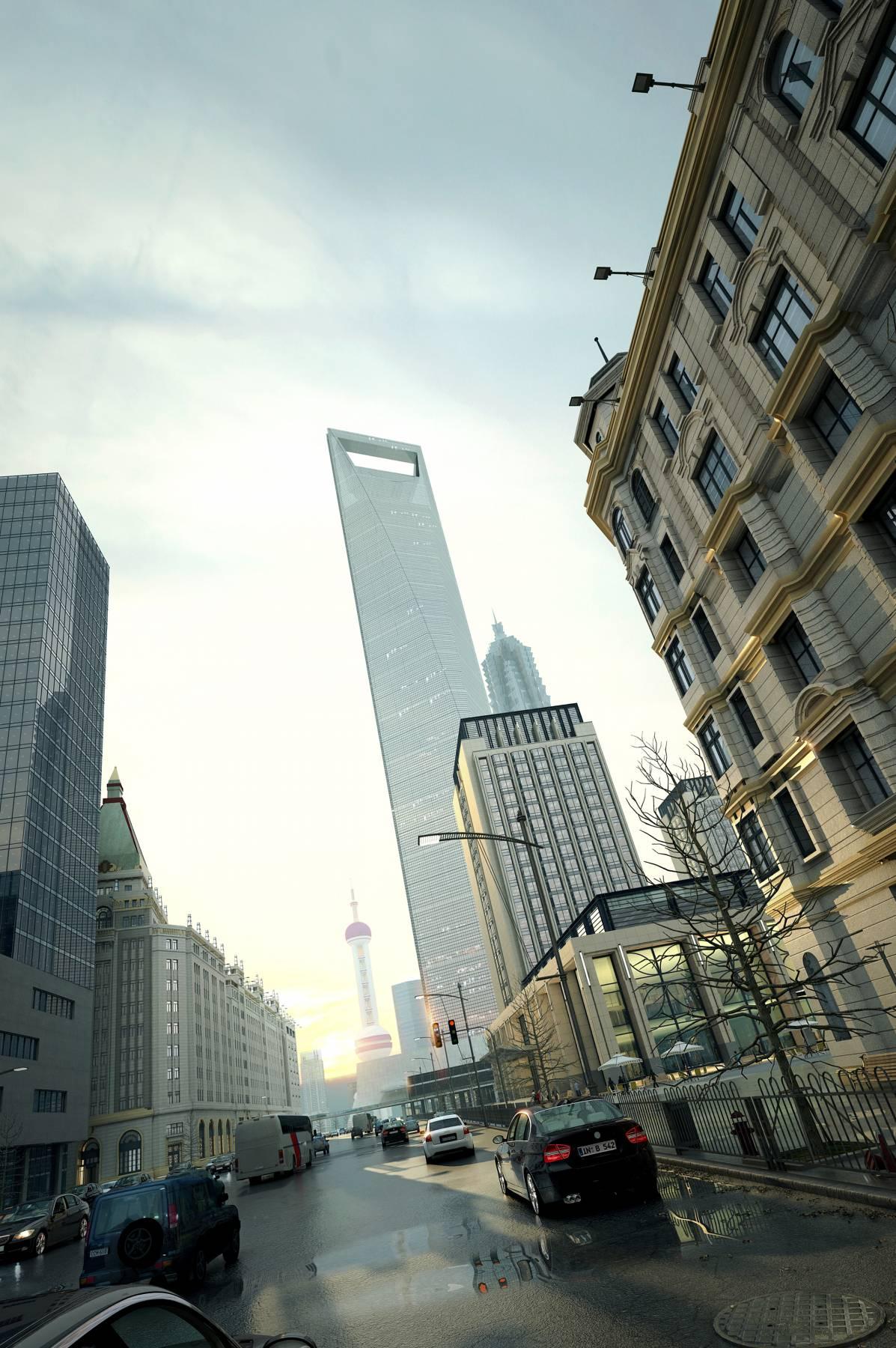 上海写实街道