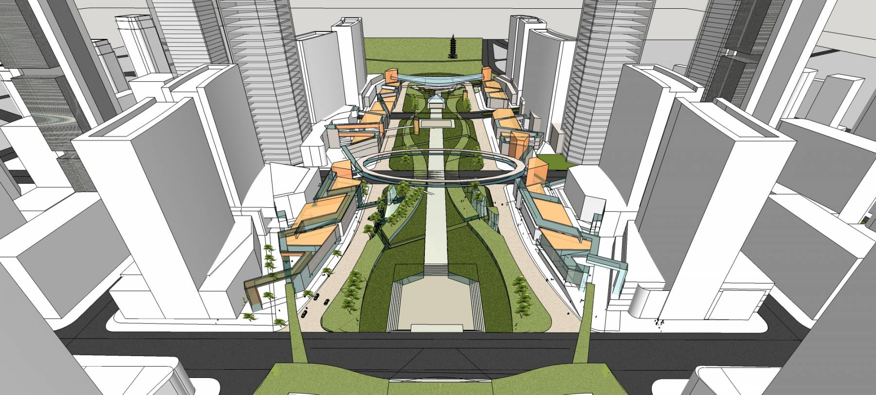 沙河堡城市设计