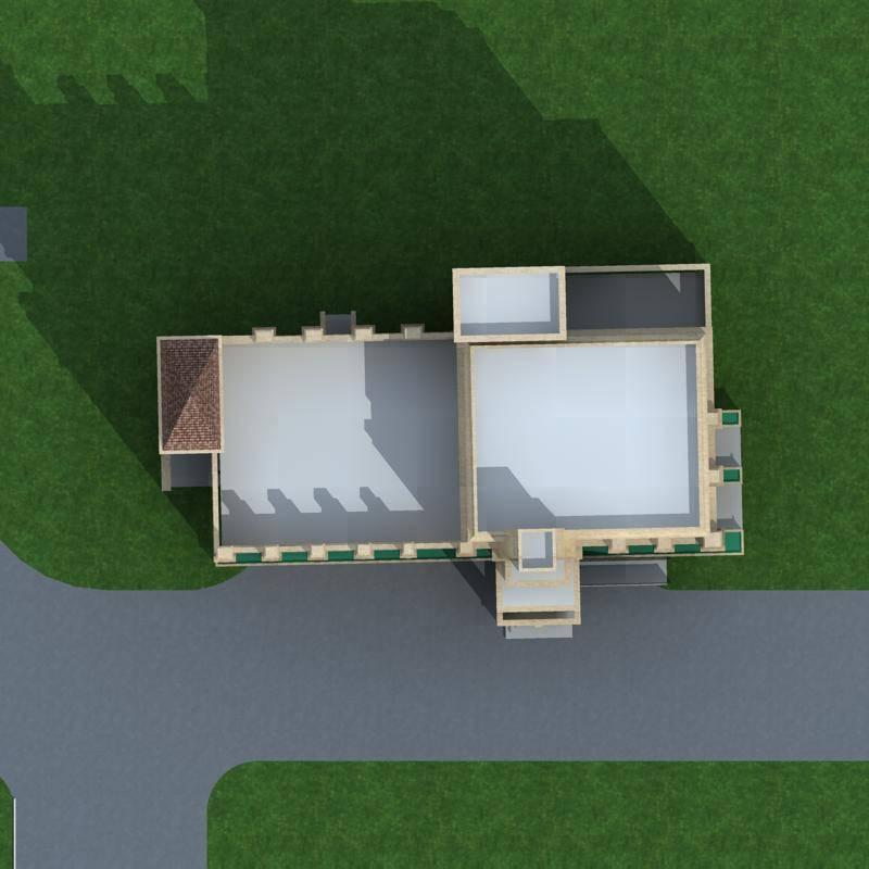 欧式多层办公楼