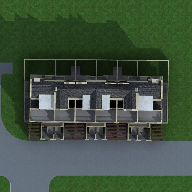 英式联排别墅