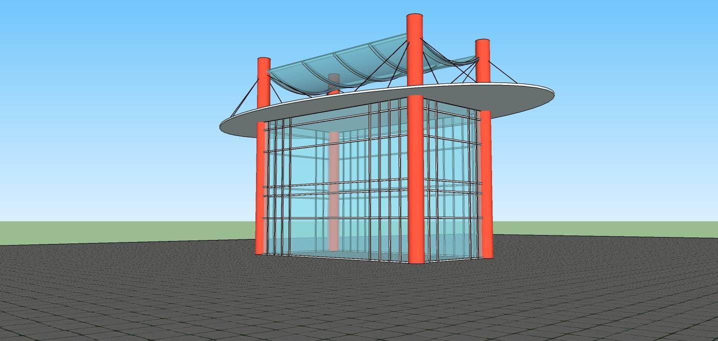 现代风格小建筑
