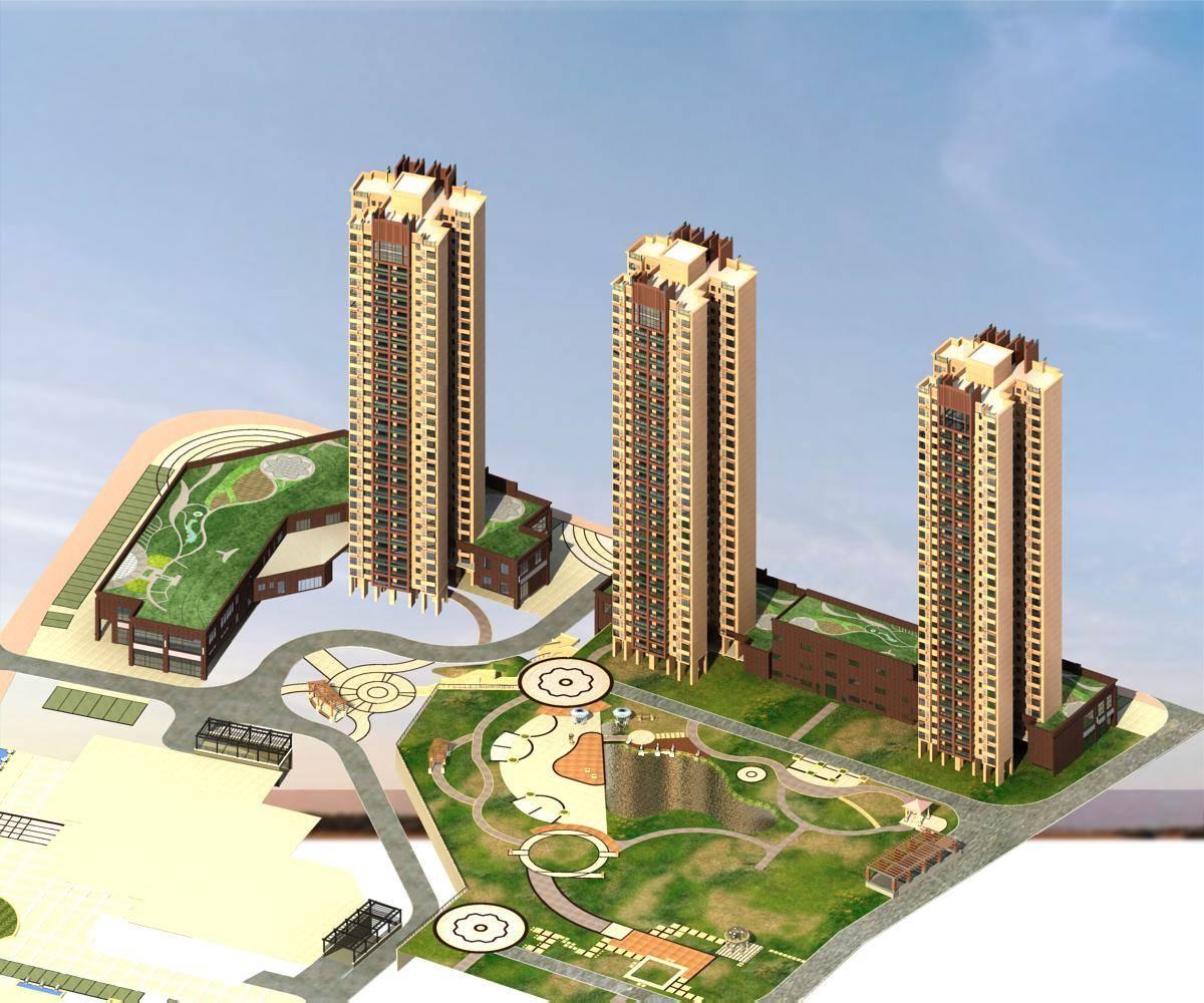 现代住宅小区及景观