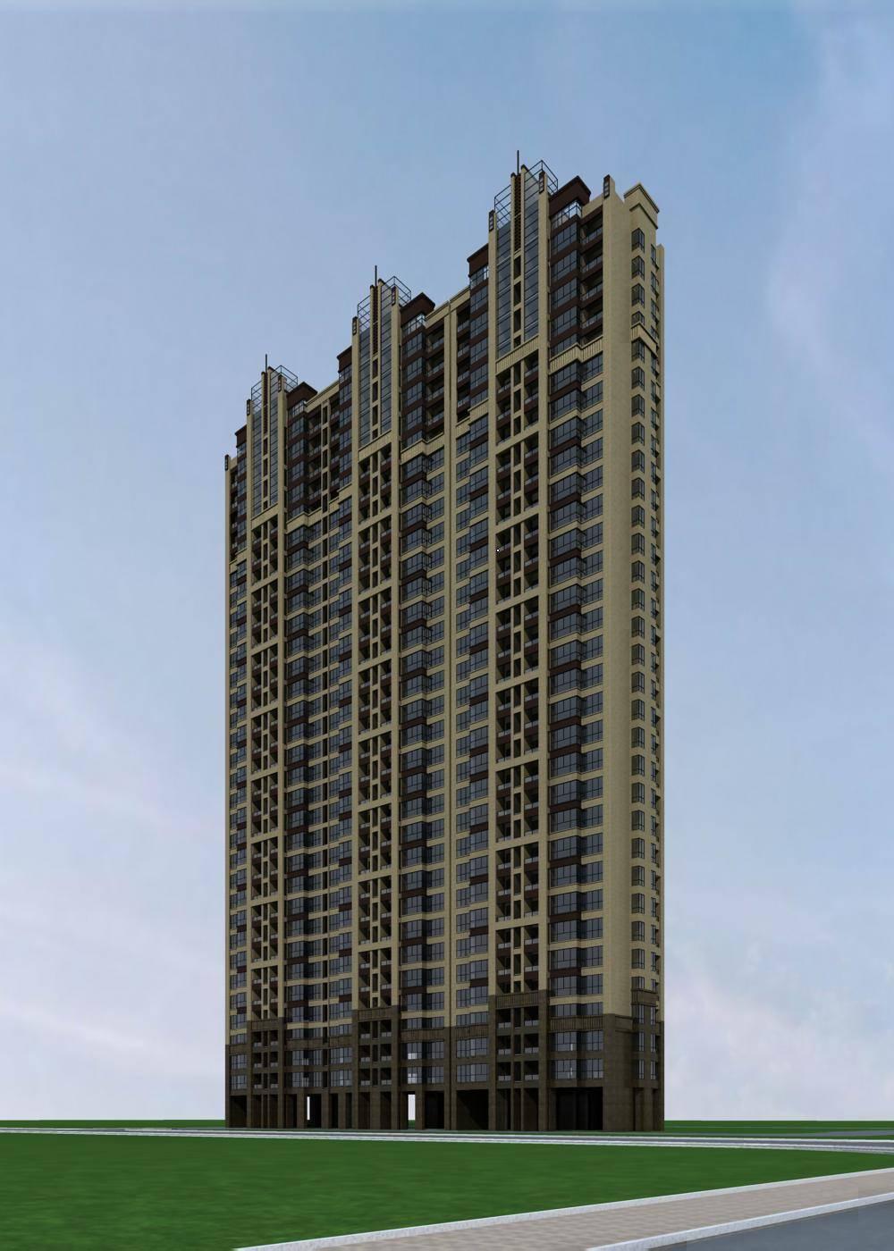 新古典风格高层公寓