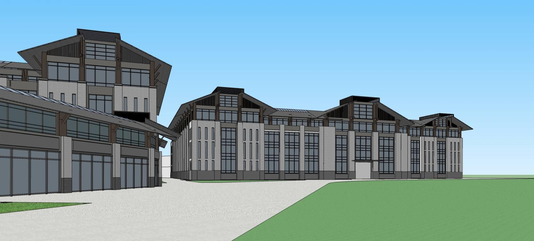 新中式工业园区