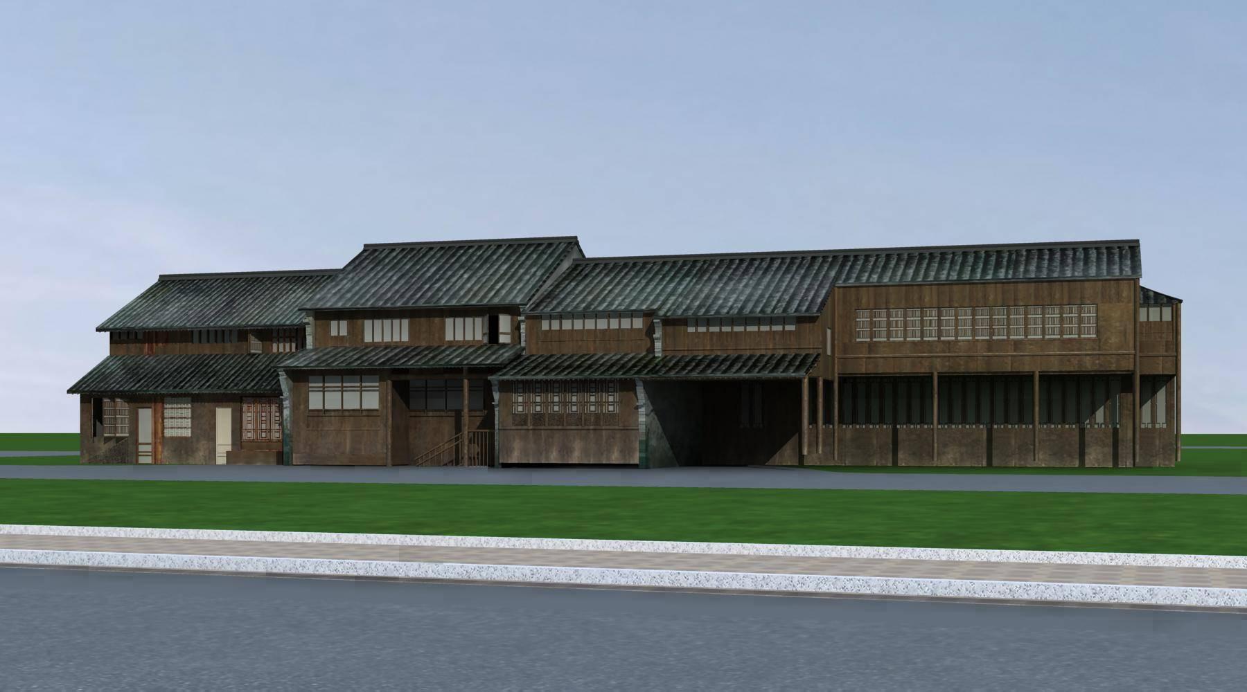 中式老建筑