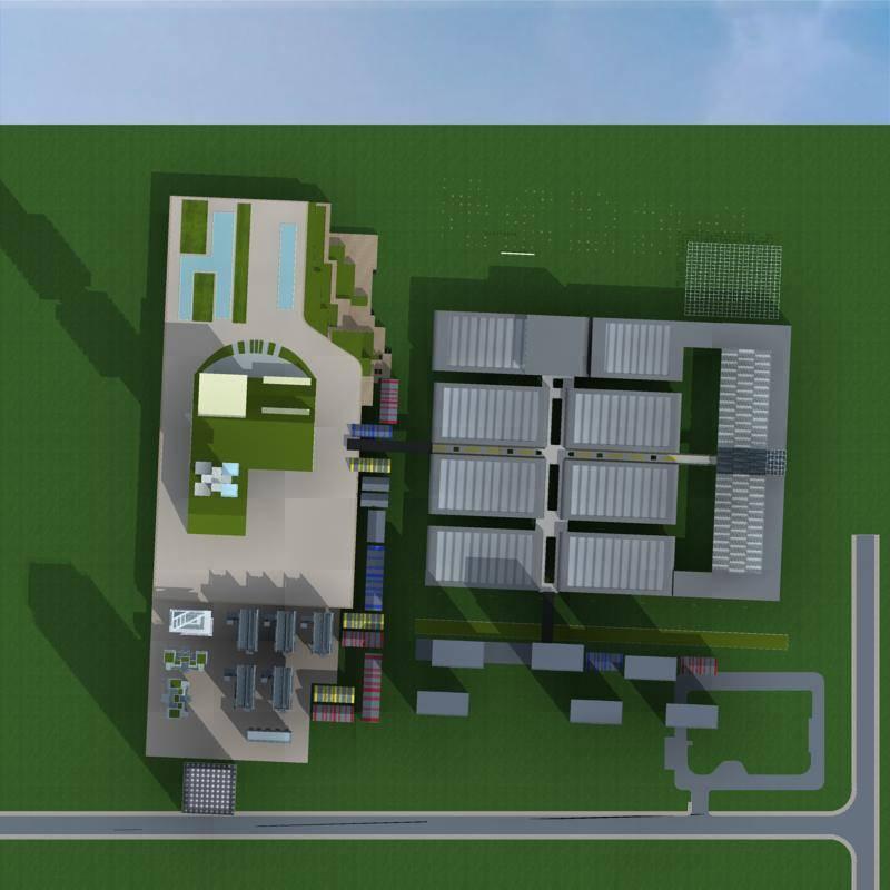 现代产业园规划