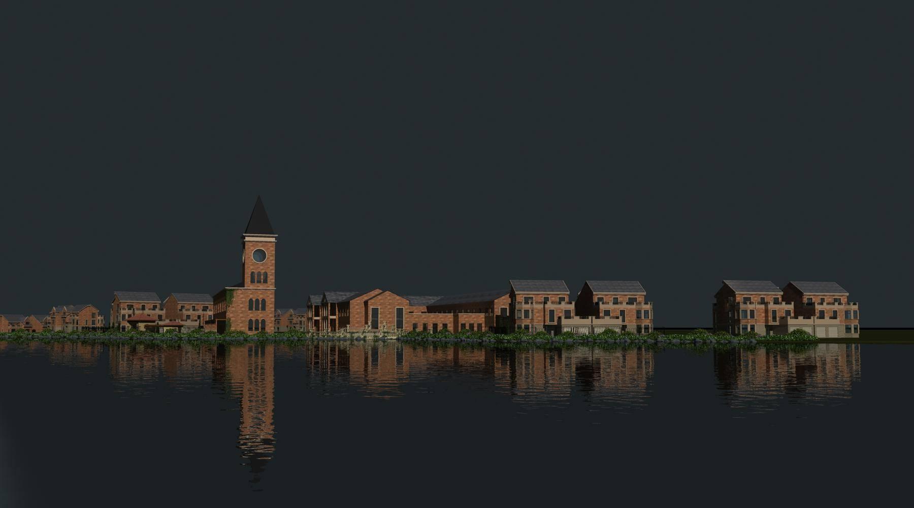 欧式别墅群及会所