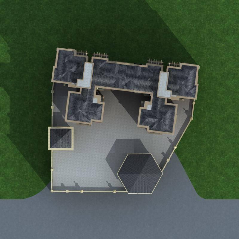 欧式小高层商业住宅楼