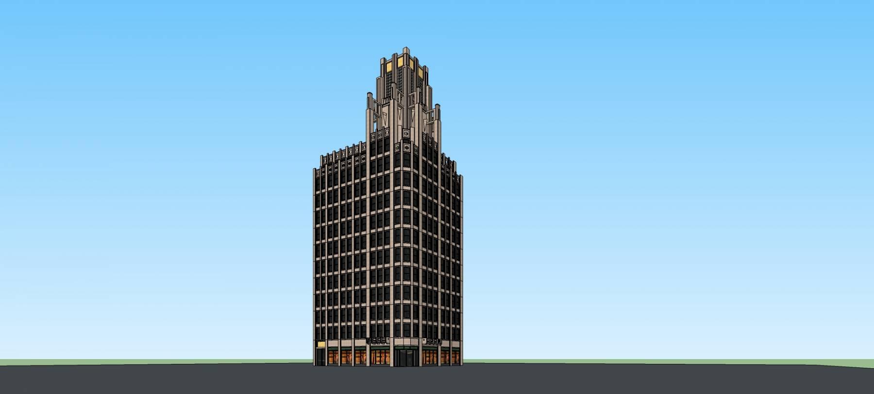 新古典风格商业住宅公寓
