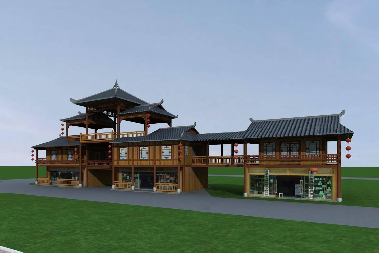中式小商业楼