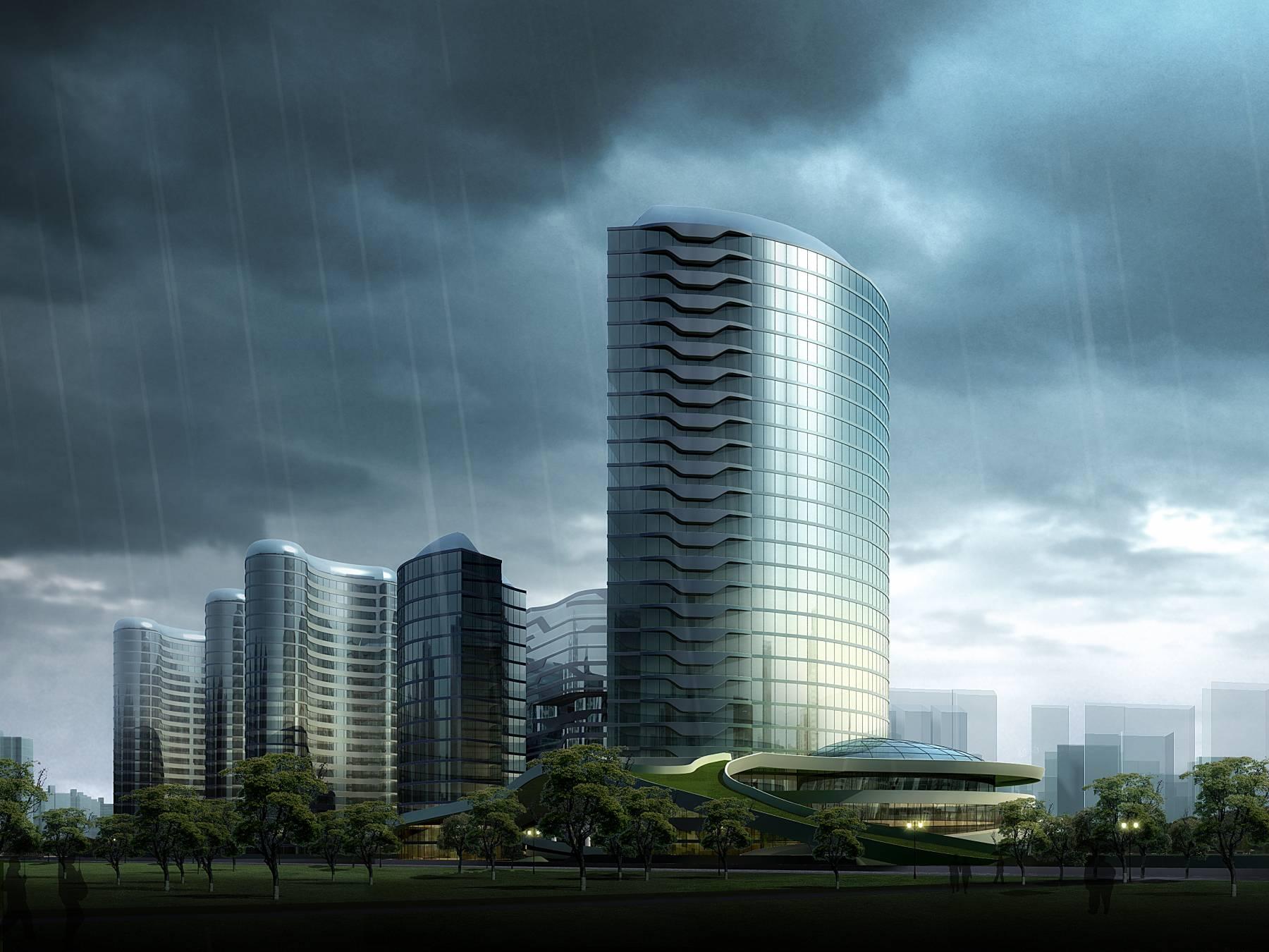 现代城市商业综合体规划