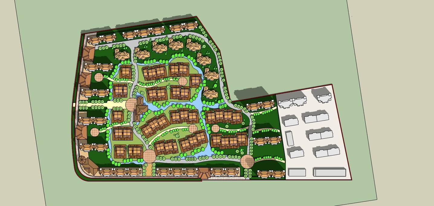 欧式住宅区规划