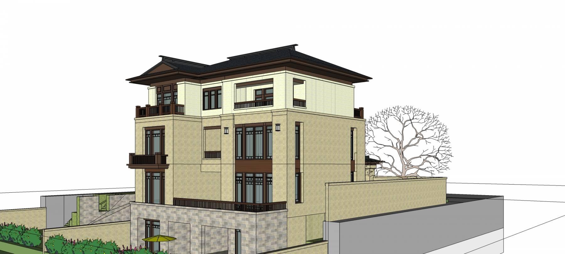 新中式獨棟別墅