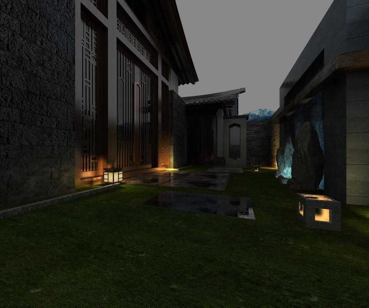 中式庭院别墅