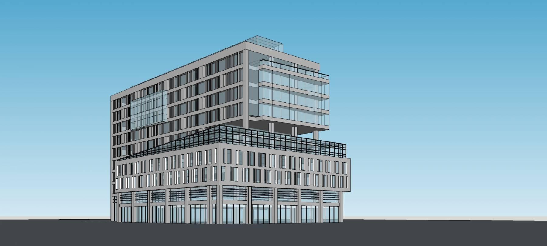現代多層辦公樓