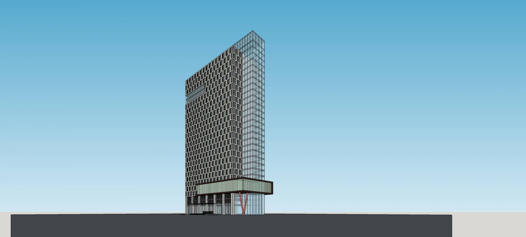 現代高層辦公樓
