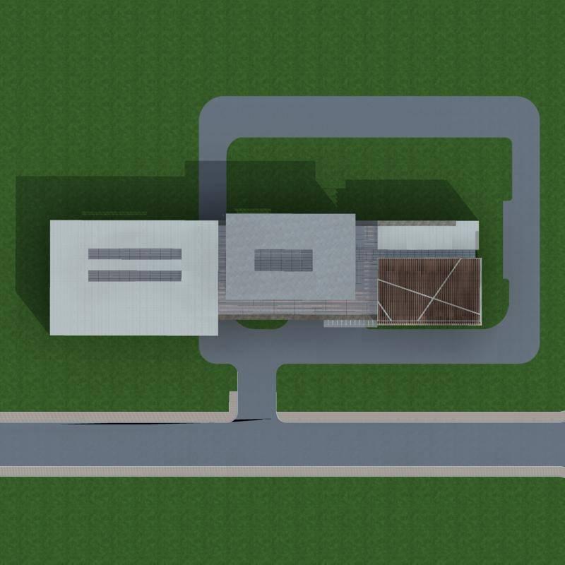 现代大型商厦