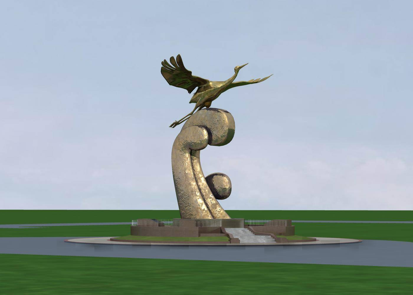 城市小品--雕塑