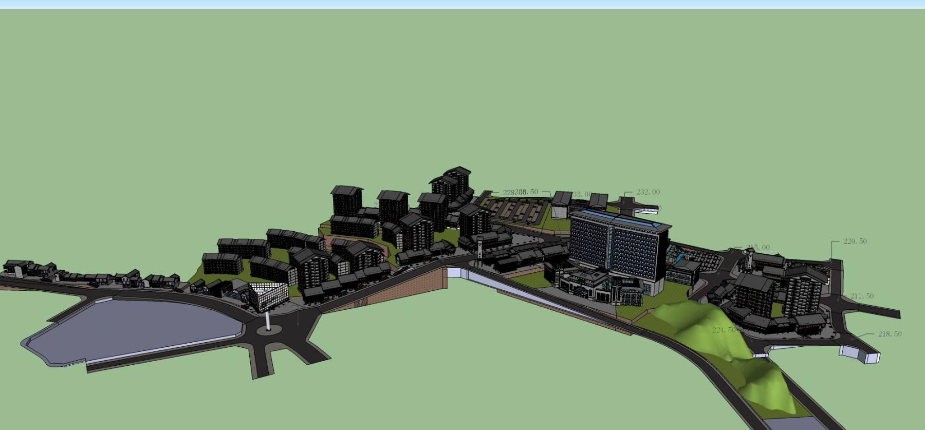 某城市规划设计