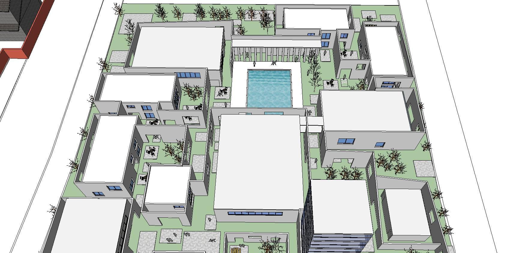 产业创意园区概念模型