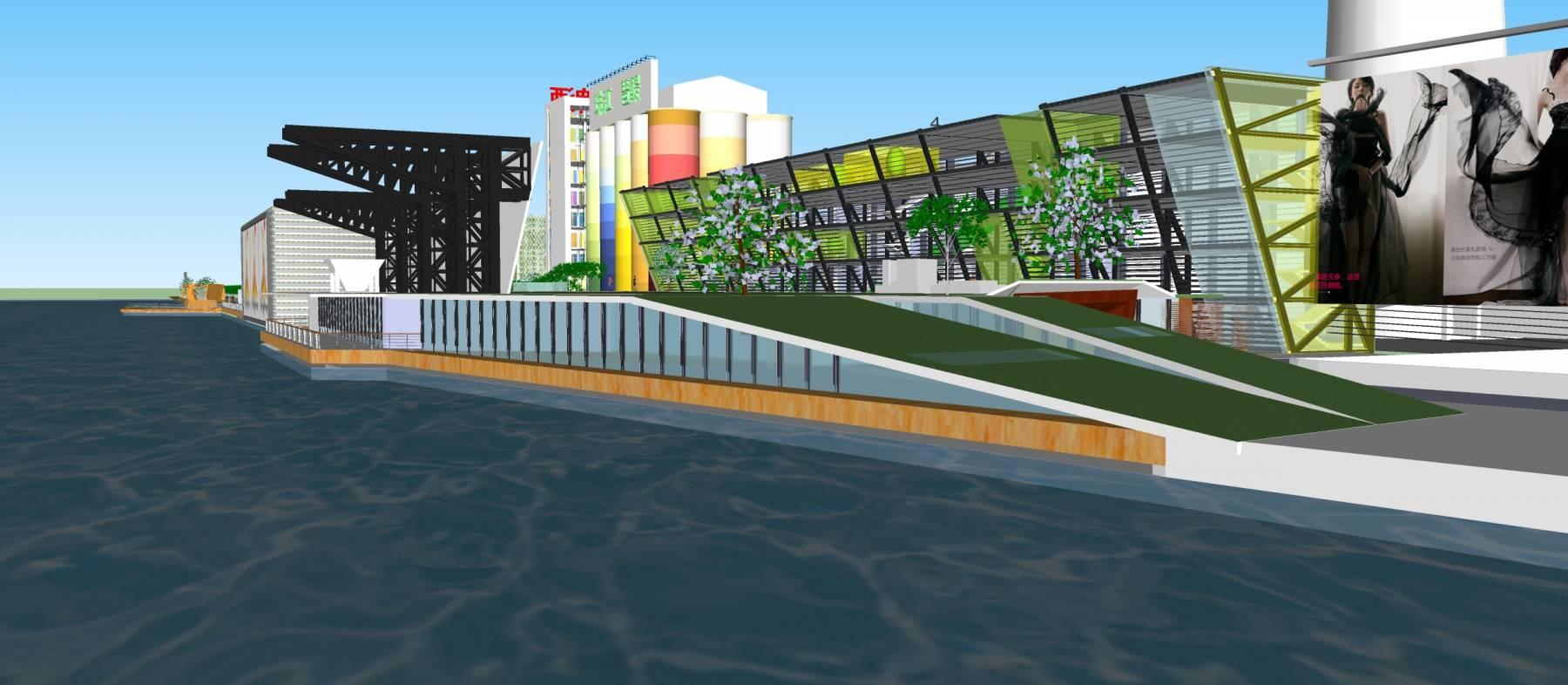 珠江沿岸改造