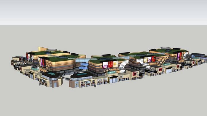 安粮城市广场商业规划设计方案