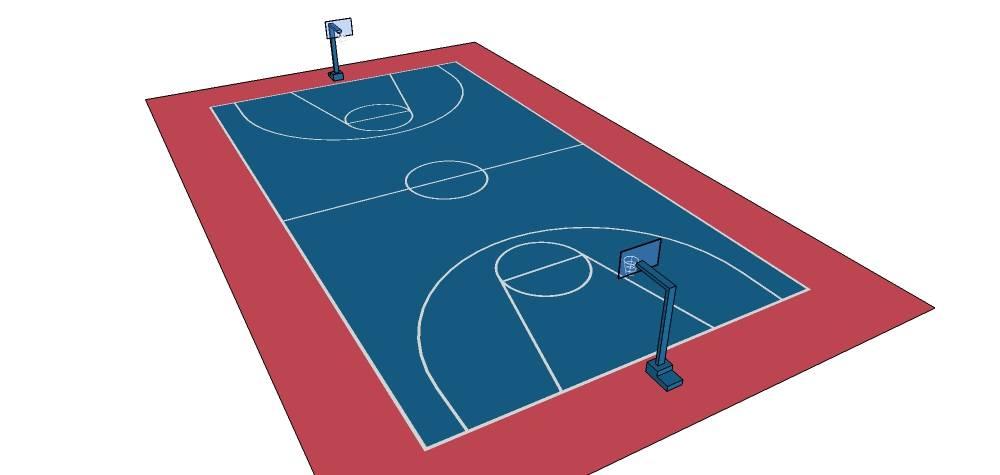 完美篮球场