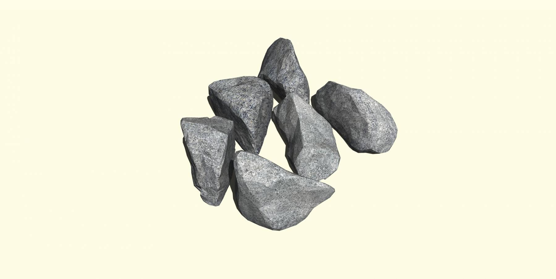 石头模型i
