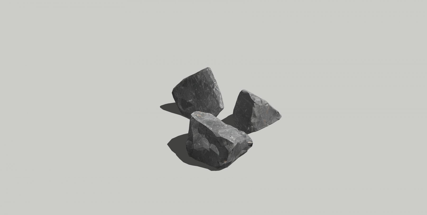 石头模型d