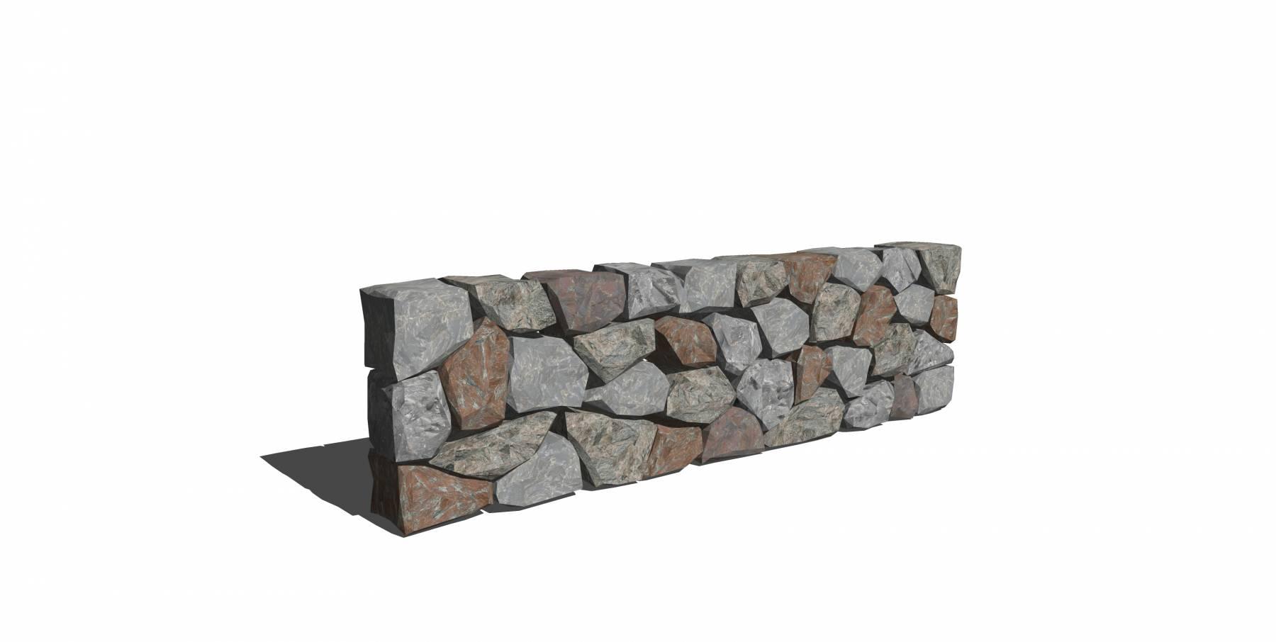 石头模型c