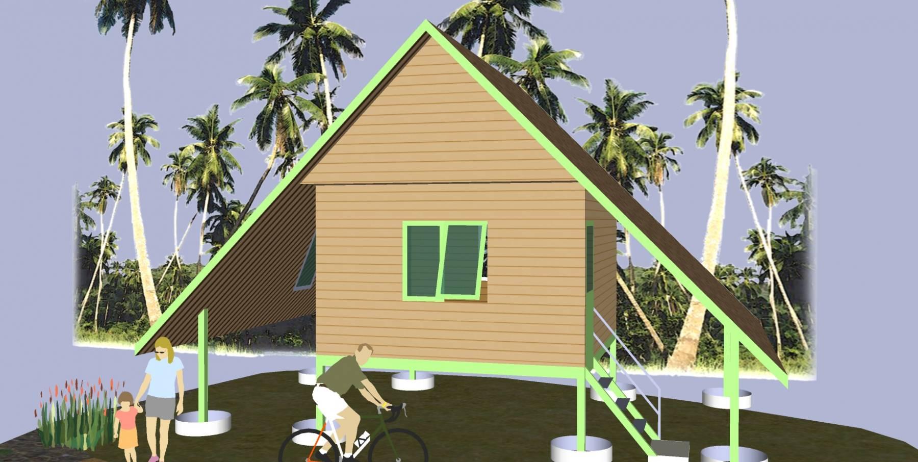 生态旅游现代度假别墅精模2