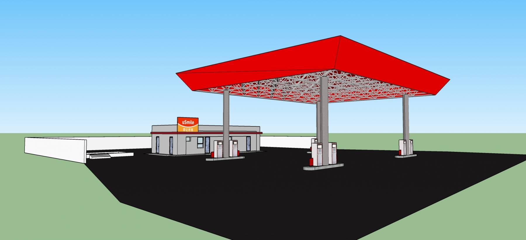 加油站-中石油