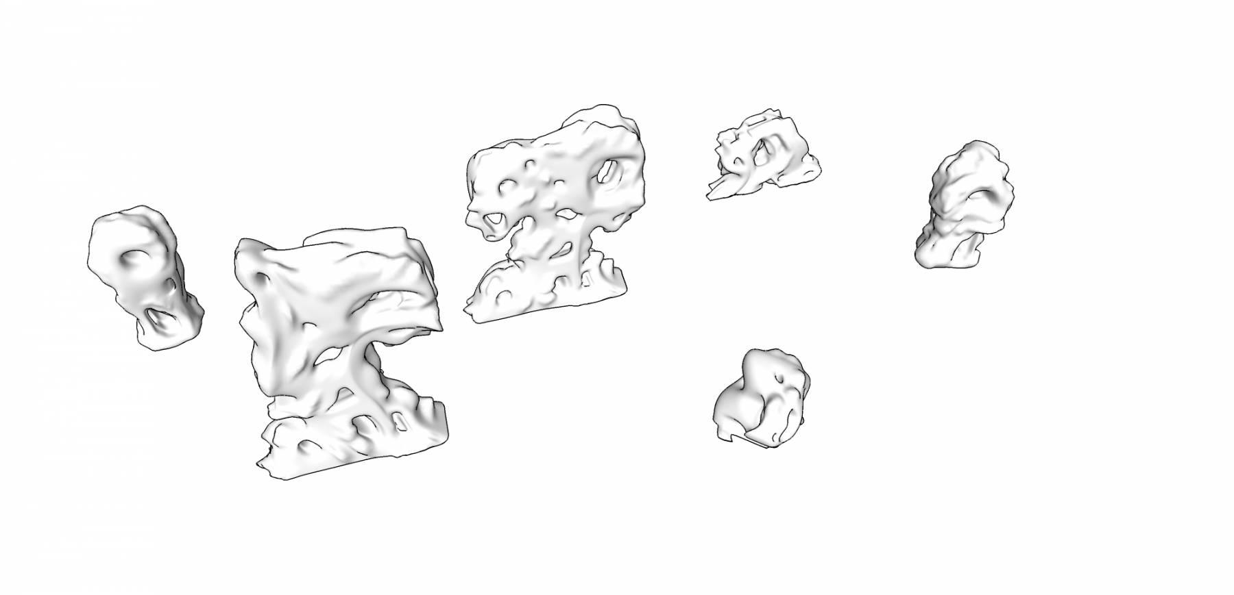 太湖石组合