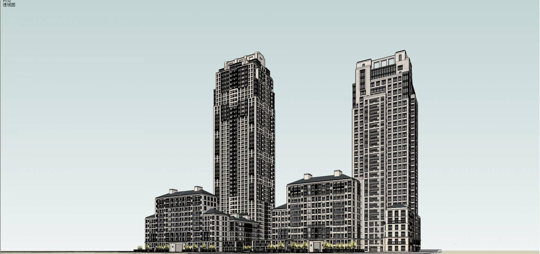 重庆江北万科溉澜溪  斯特恩  大都会风格