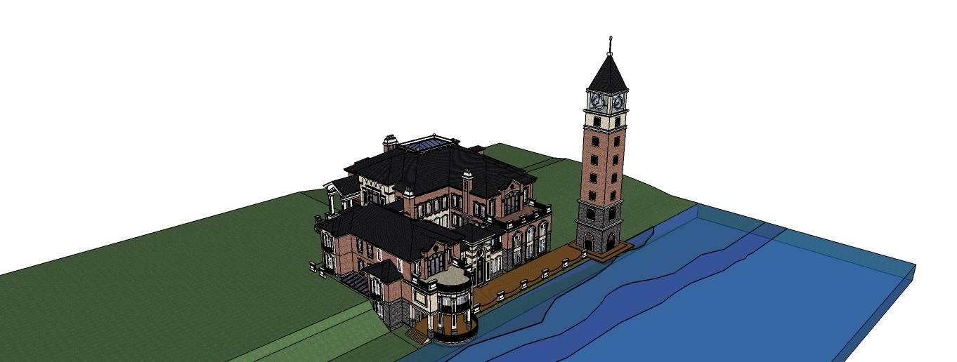 欧式建筑 住宅