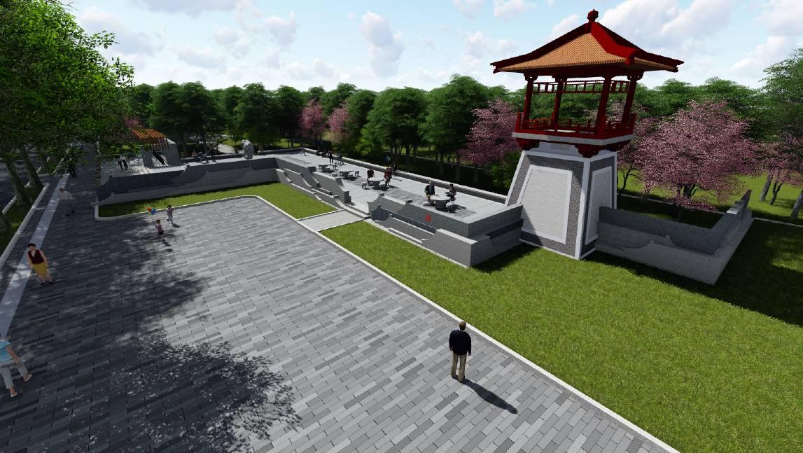 中式道路绿化景观设计方案(超精细)