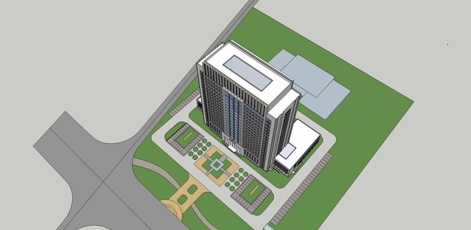 现代 高层 办公楼 写字楼 综合楼 11226