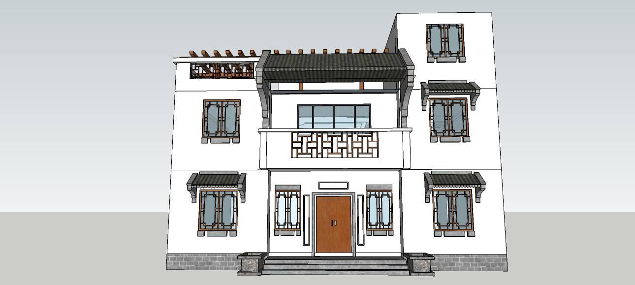 独栋中式风格别墅