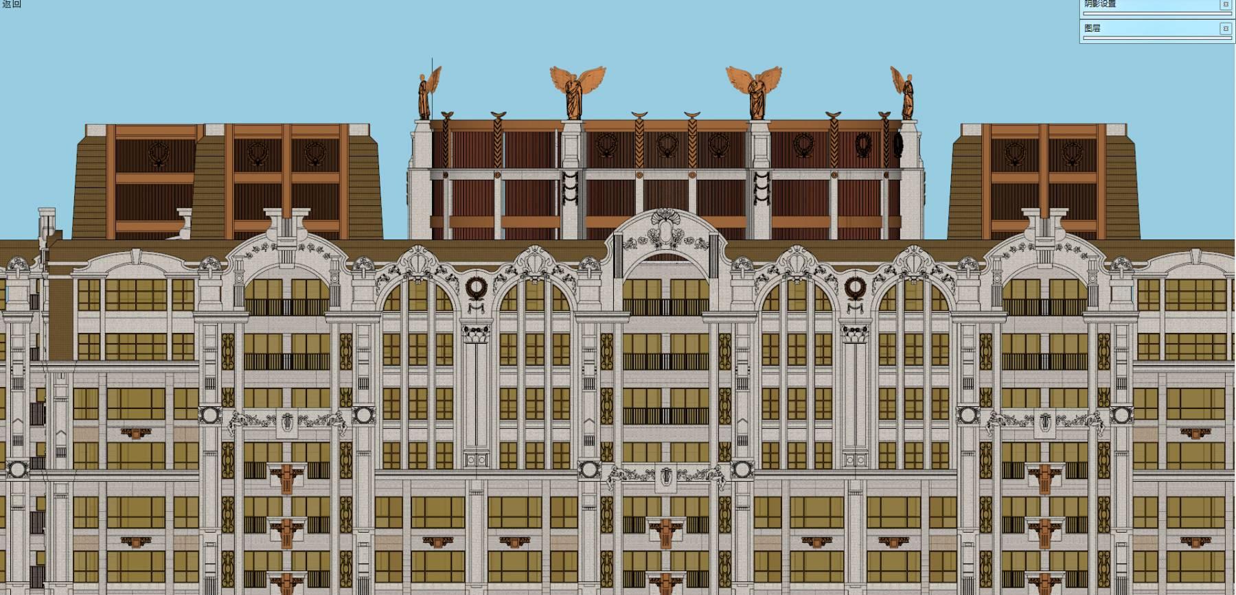 台湾XX欧式高层住宅设计