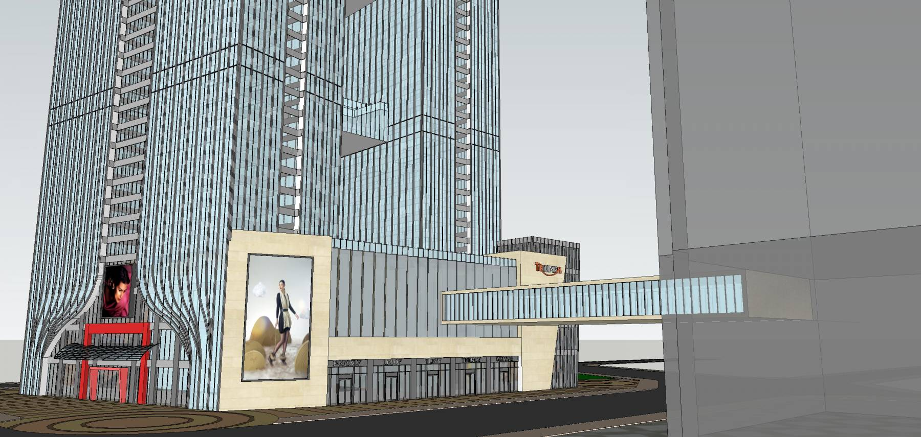 现代超高层建筑原创