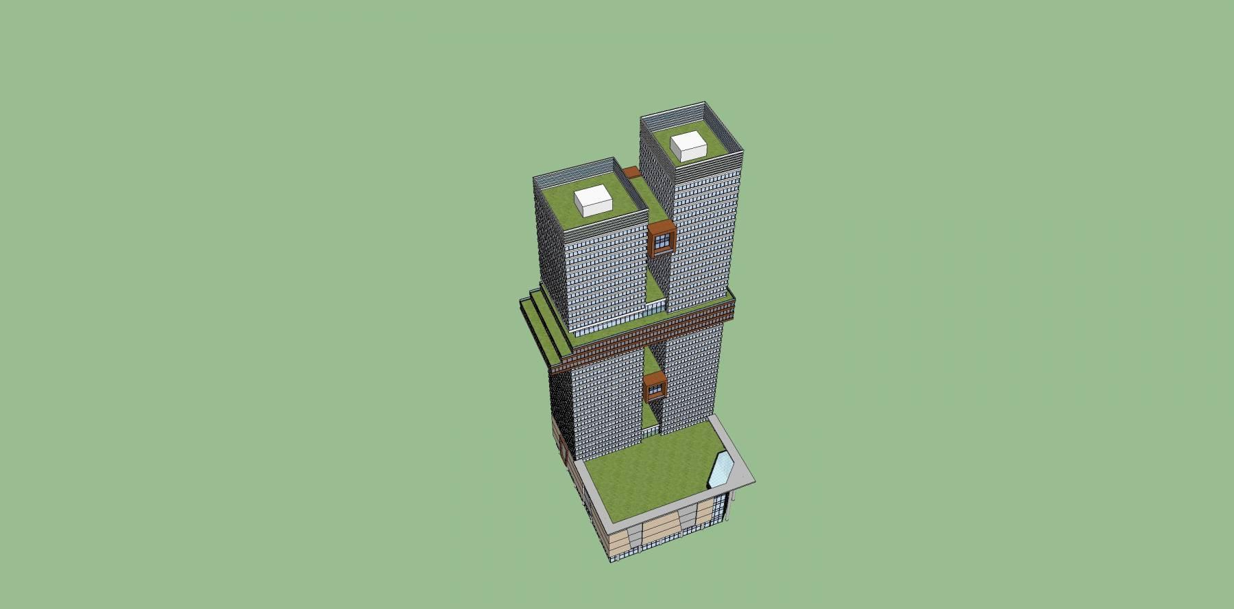 现代超高层建筑原创1