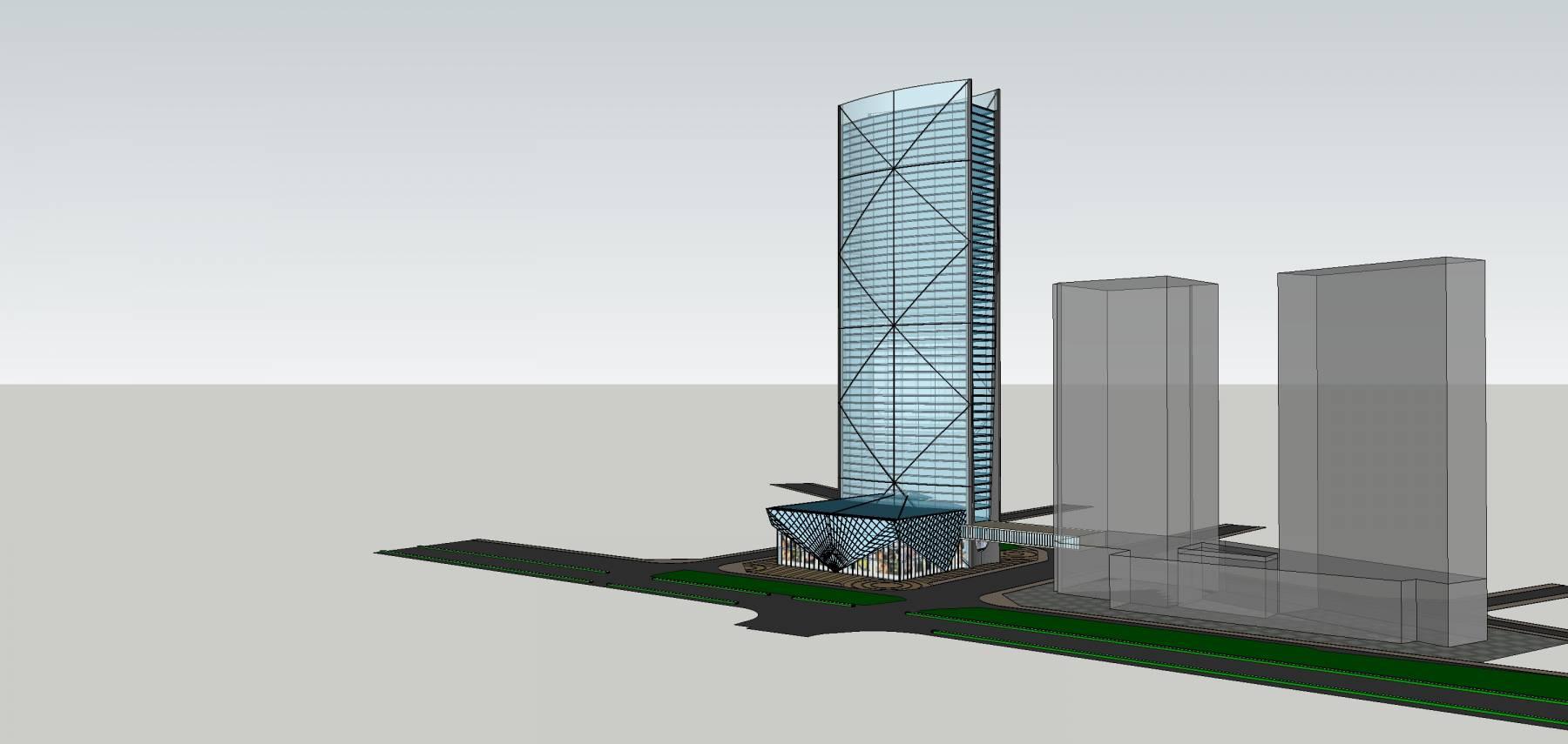 现代超高层建筑原创2