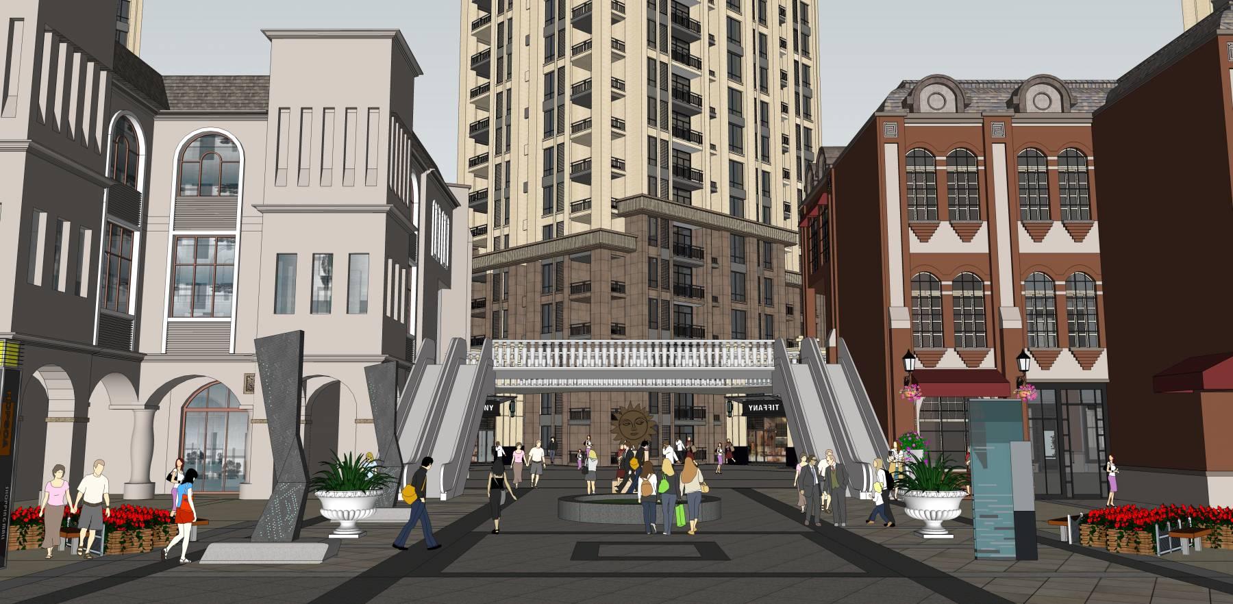 商业街—中标项目
