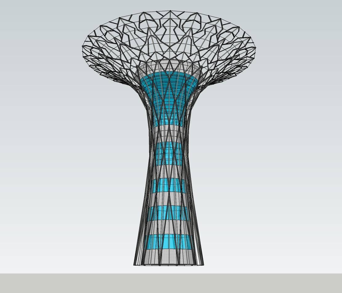 构架-花瓶