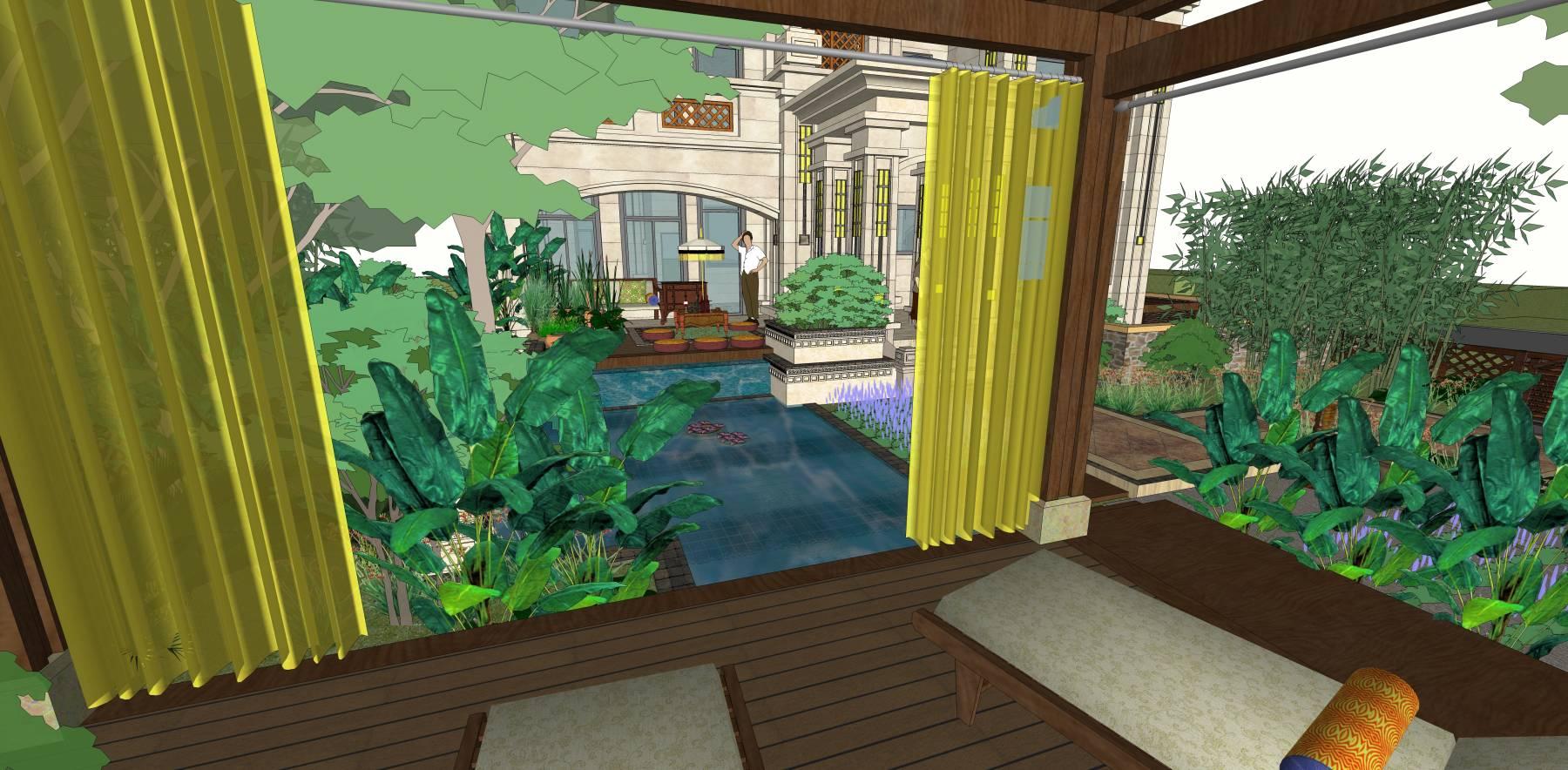 东南亚风格建筑别墅