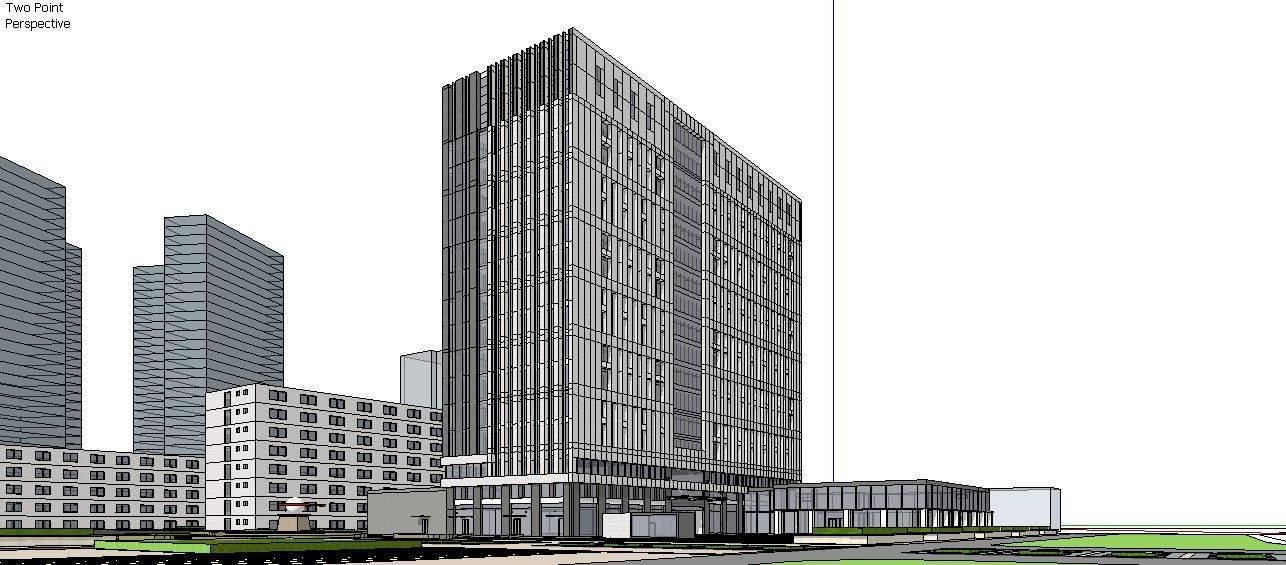 多层高层办公楼及规划