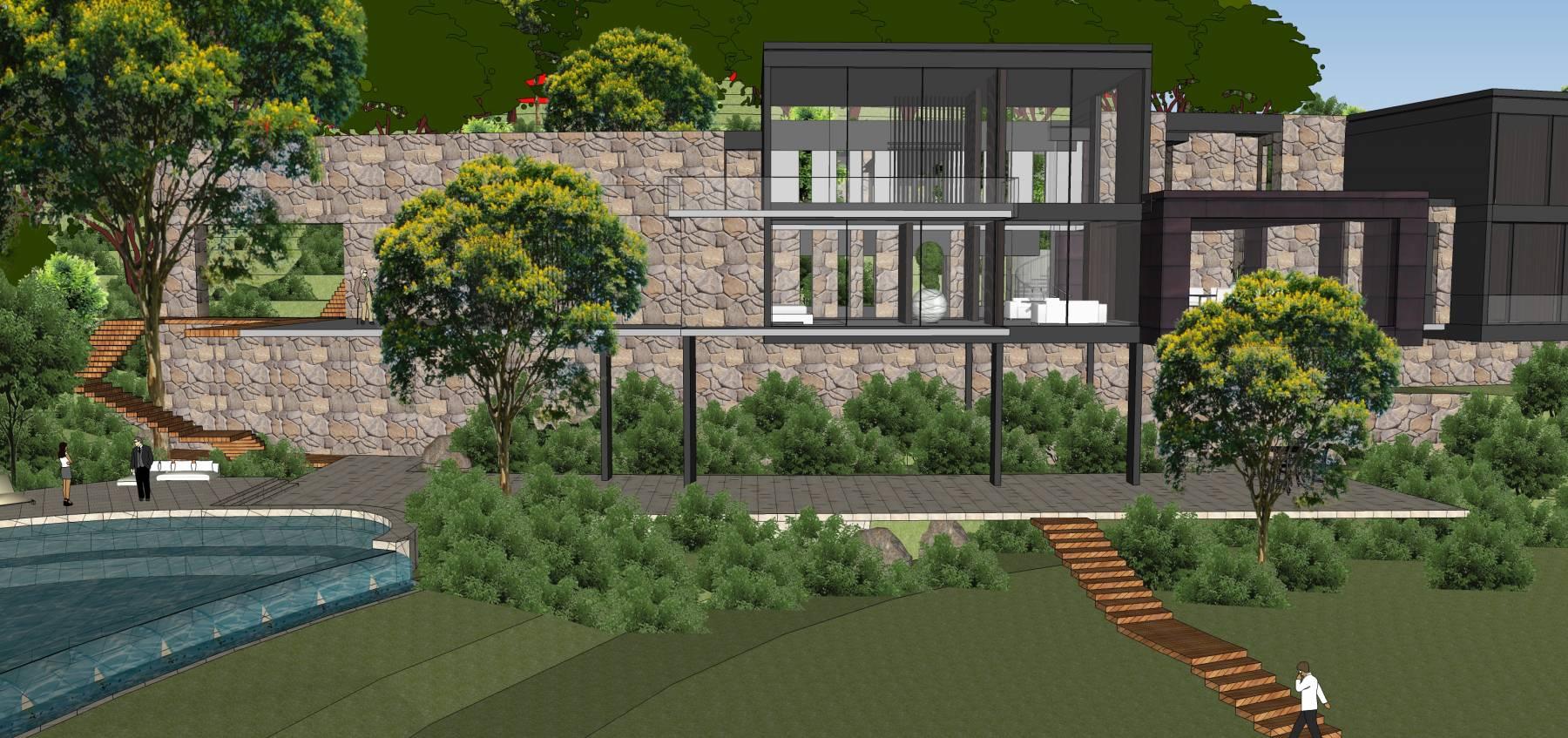 现代别墅建筑