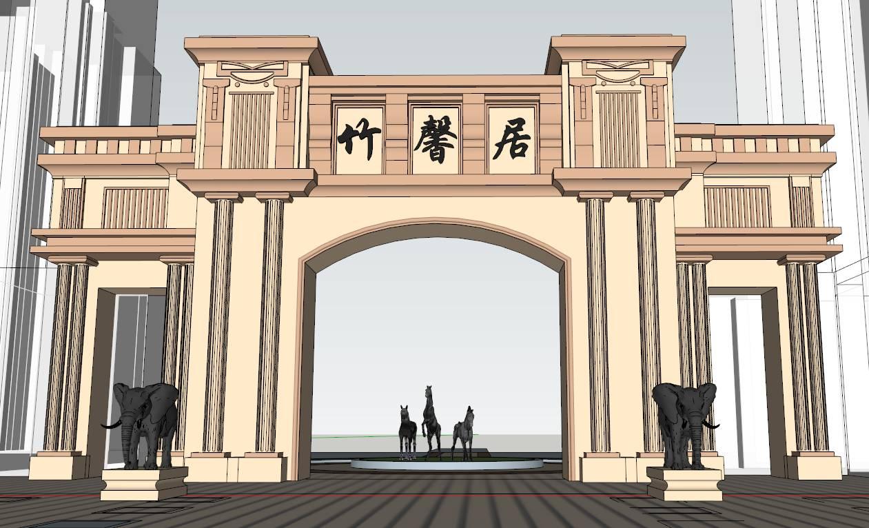 GME-欧式大门