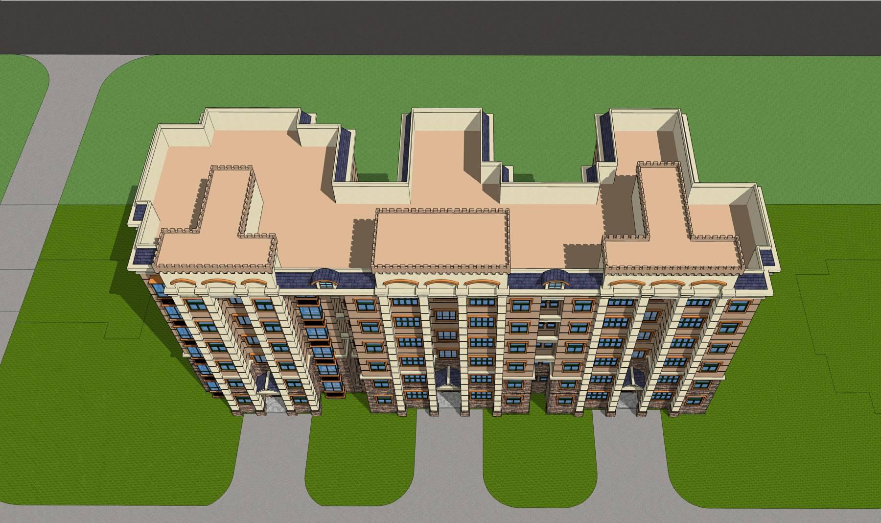 宿舍楼建筑方案图