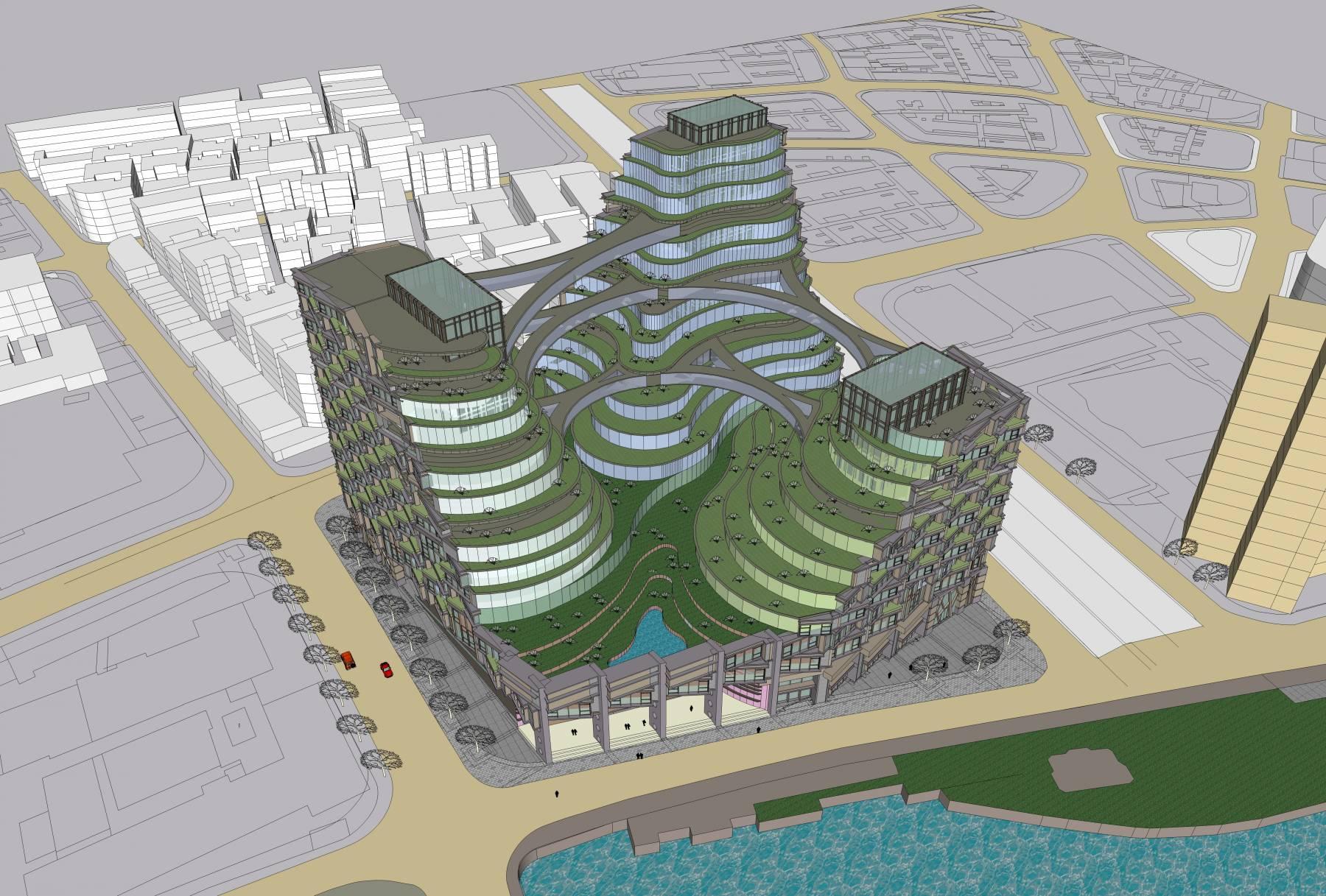 生态公园办公大楼